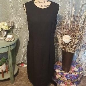 Maggy London Stretch Black Dress Size 10